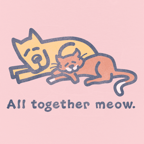 Women's All Together Meow Crusher Tee