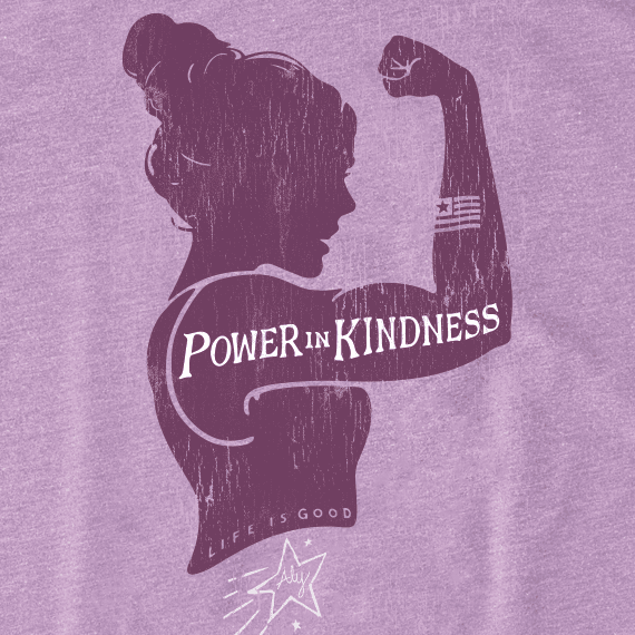 Women's Power in Kindness Aly Tee