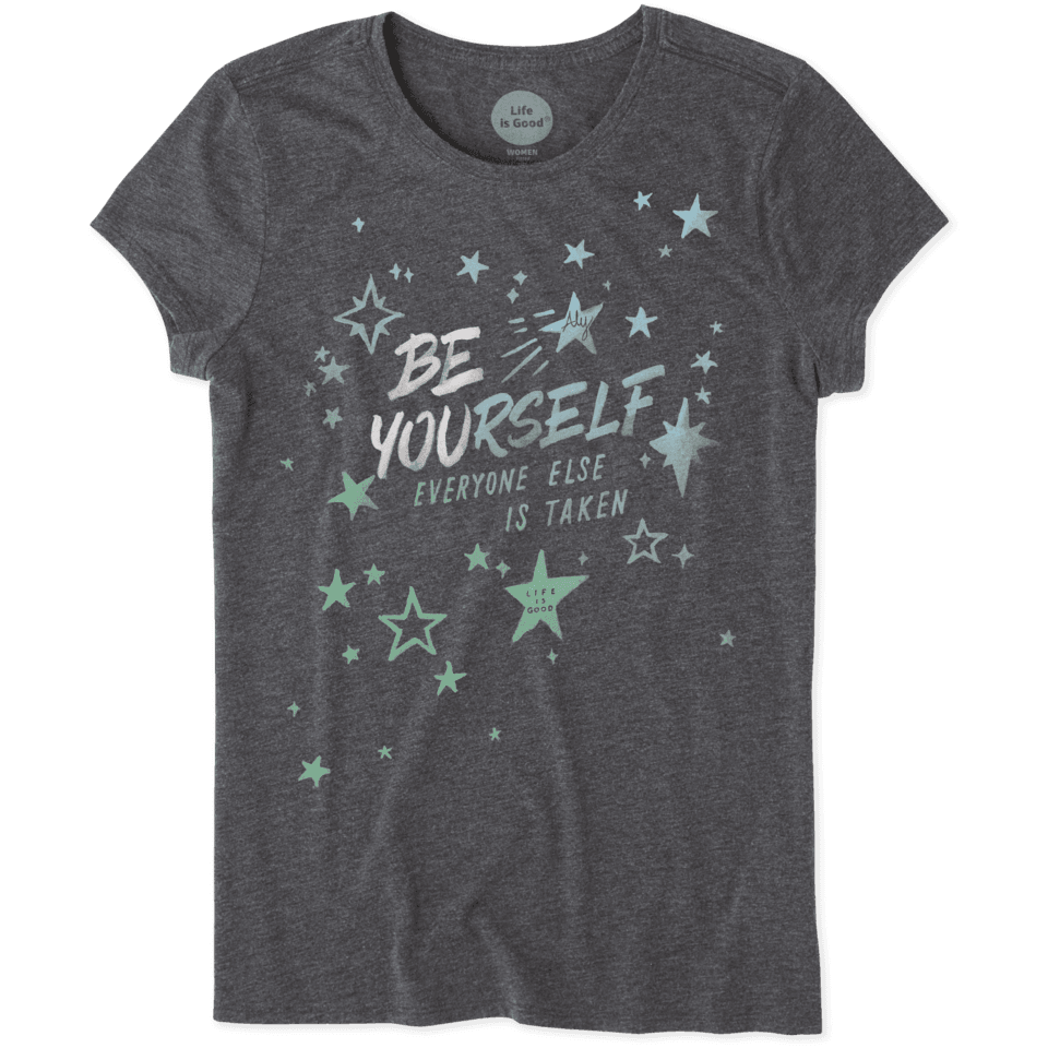 Womens Be Yourself Aly Tee