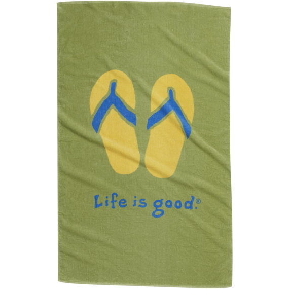 Flip Flop Bath Towel