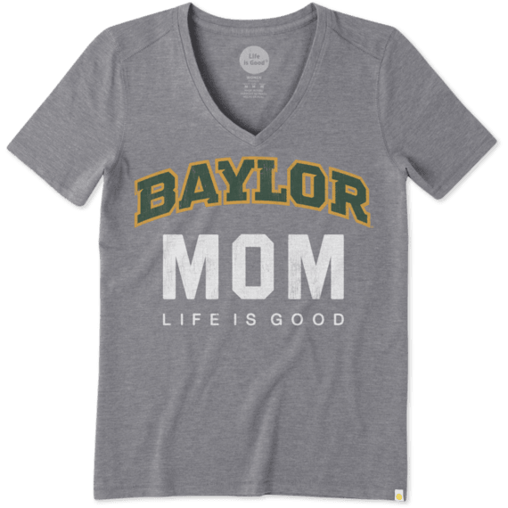 Women's Baylor Mom Cool Vee