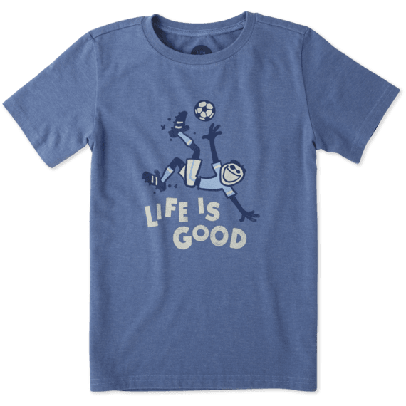Boys Bicycle Kick Soccer Crusher Tee