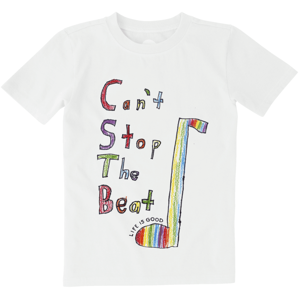 Boys Cant Stop The Beat Art Contest Crusher Tee