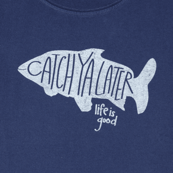 Boys Catch Ya Fish Crusher Tee