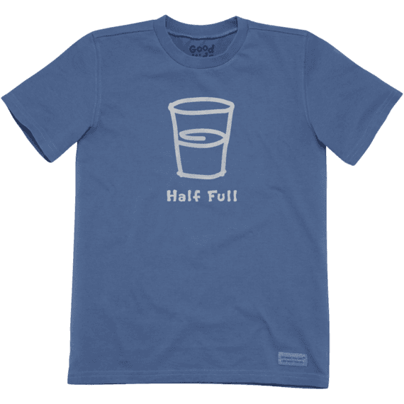 Boys' Half Full Crusher Tee