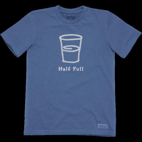 Boys' Half Full Crusher Tee