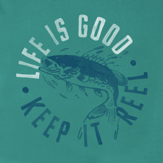 Boys keep it reel fish crusher tee for Keep it reel fishing