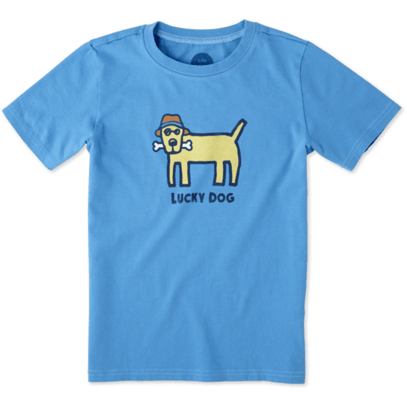 Boys Lucky Dog Crusher Tee