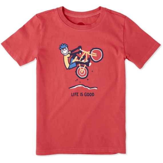 Boys Mountain Bike Crusher Tee