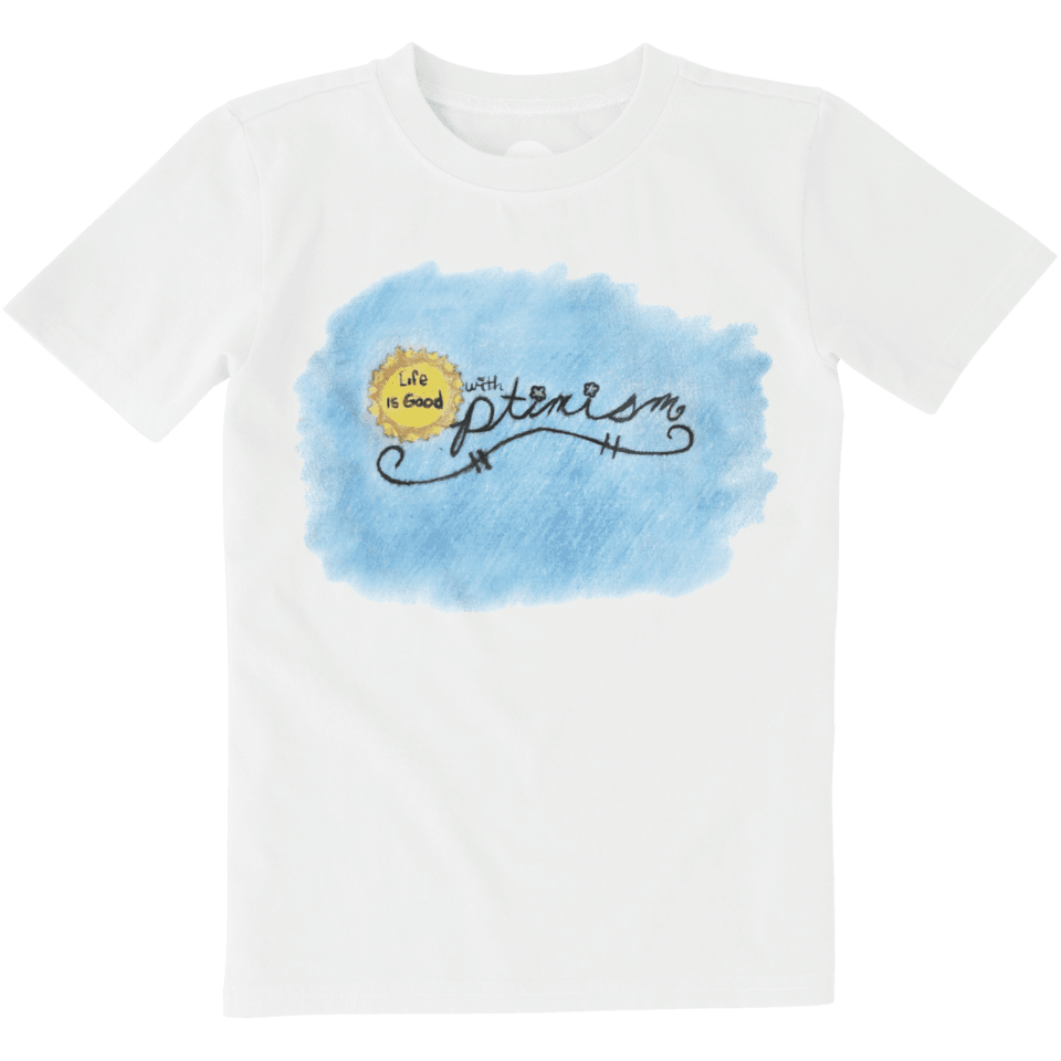 Boys Optimism Sun Art Contest Crusher Tee
