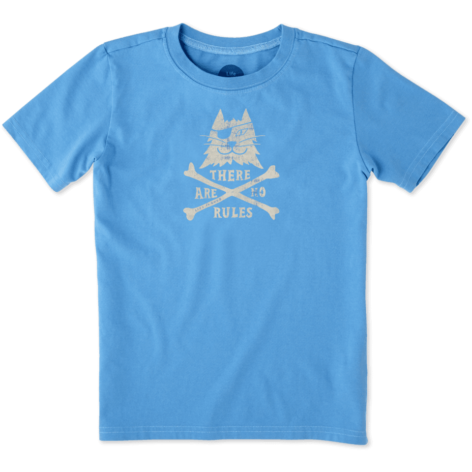 Boys Pirate Cat Crusher Tee