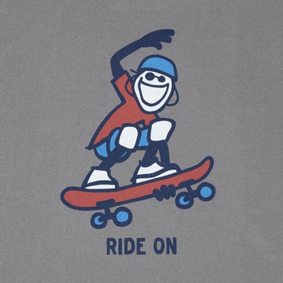 Boys Skate Board Crusher Tee