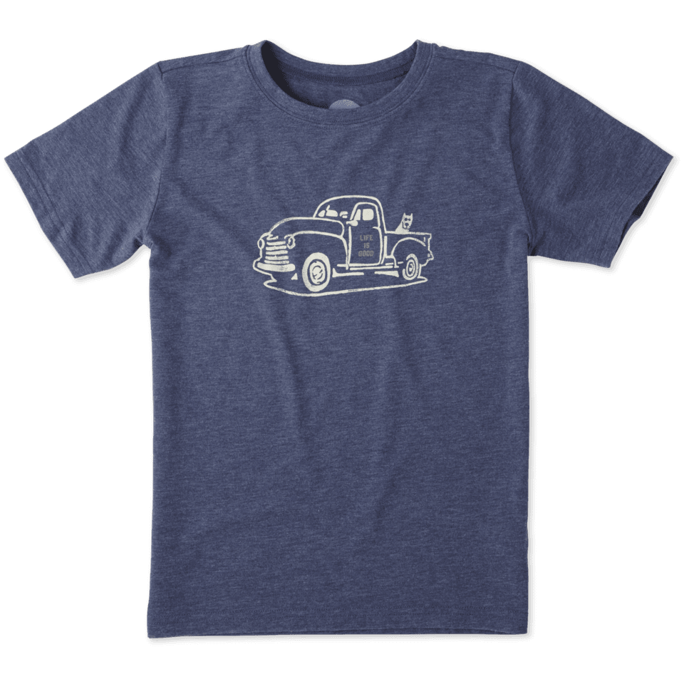 Boys Rocket Truck Cool Tee