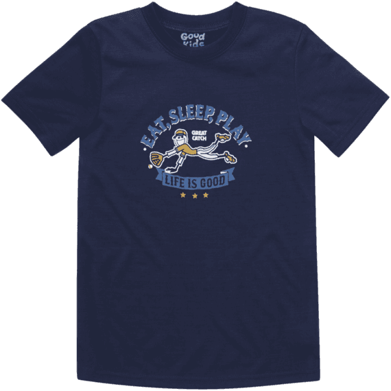 Boys' Baseball Sleep Tee