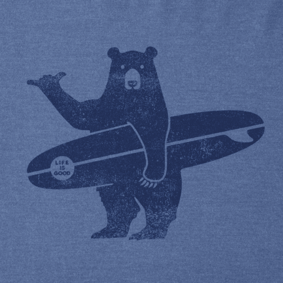 Boys Surf Bear Crusher Tee
