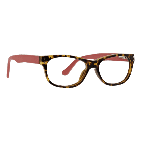 Cinema: Wayfarer Reader In Matte Tortoise & Pink