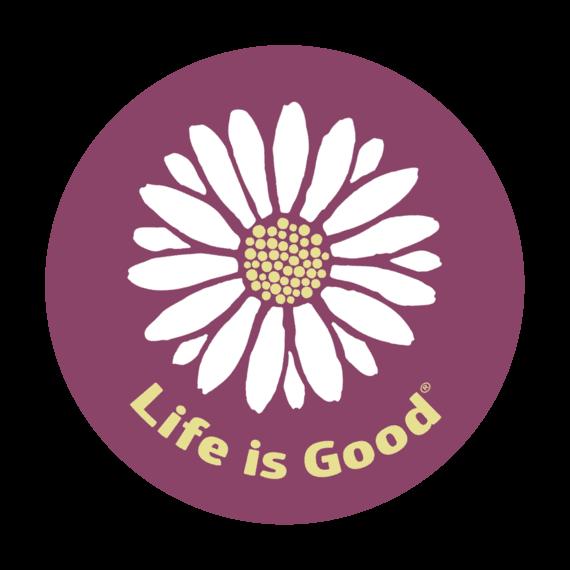 Daisy Circle Sticker