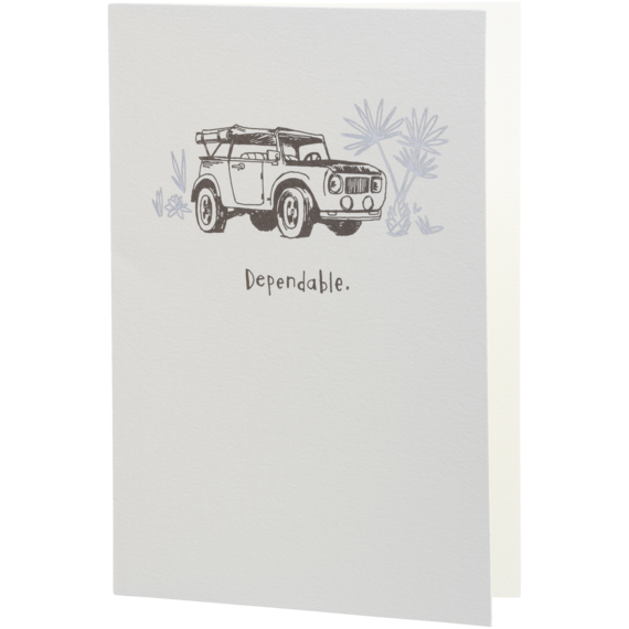 Dependable 4x4 Card