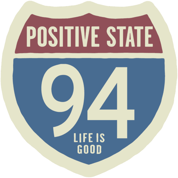 Positive State 94 Sticker