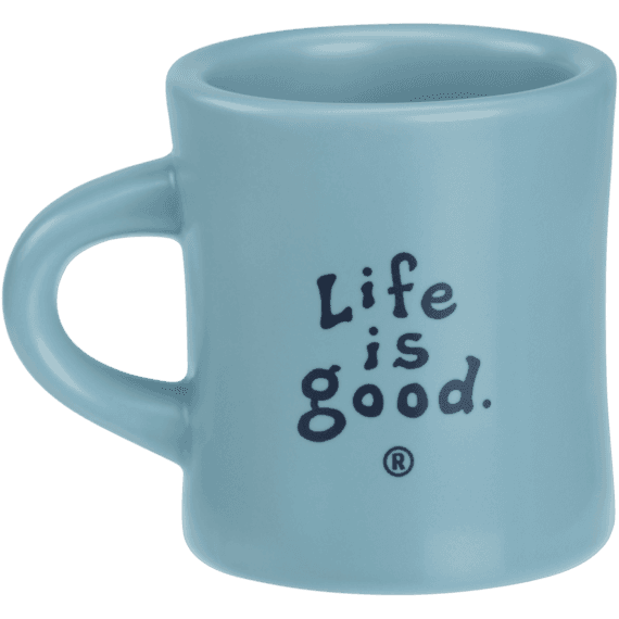 Life is good Classic Diner Mug