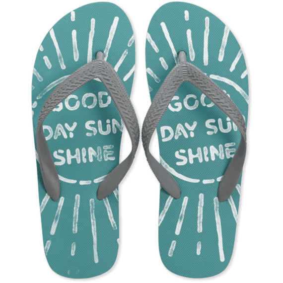 Women's Good Day Sunshine Flip Flops