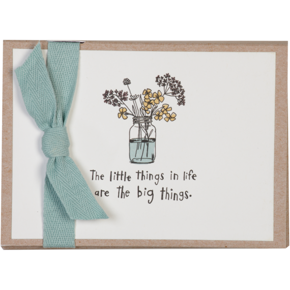 Flowers Thank You Note Card Set | Unique Stationery from Life is ...