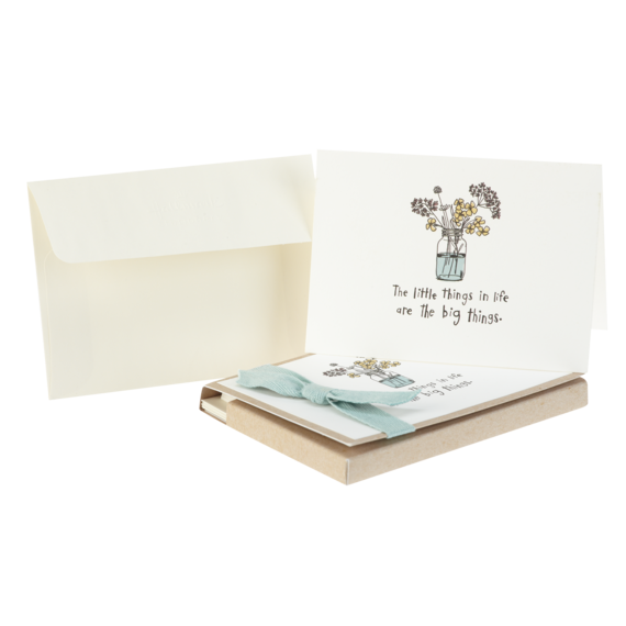 Flowers Thank You Note Card Set