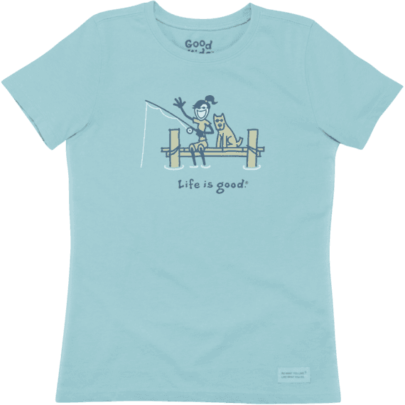 Girls' Jackie Dock Fish Crusher Tee