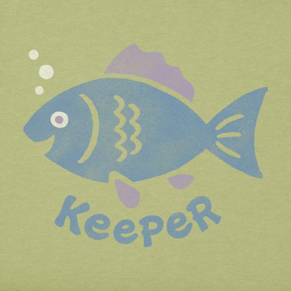 Girls' Keeper Fish Sleeveless Crusher