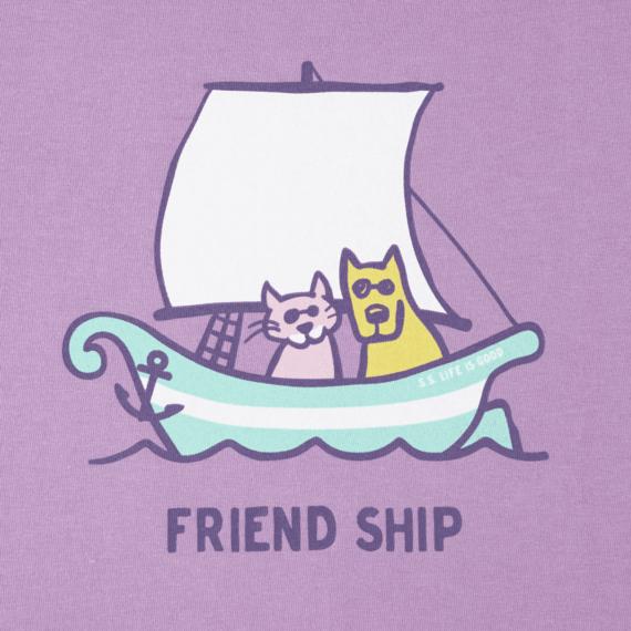 Girls Friend Ship Crusher Tee