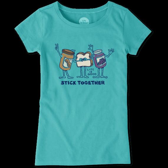 Girls PB&J Stick Together Crusher Tee