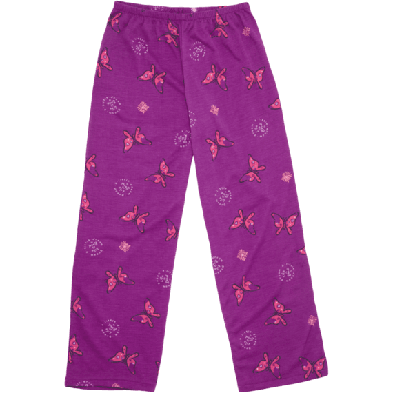 Girls Butterfly Sleep Pants
