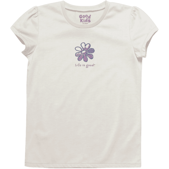 Girls Flower Sleep Tee