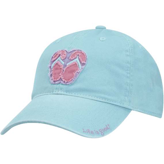 Kid's Flip Flops Tattered Chill Cap
