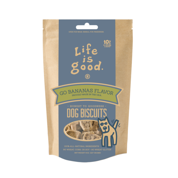 Go Bananas Dog Biscuits