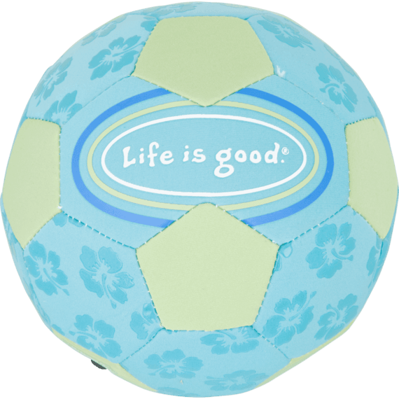 Good Times Soccer Ball, Beachhouse Blue