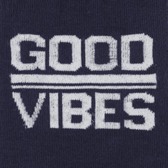 Good Vibes Men's Crew Socks