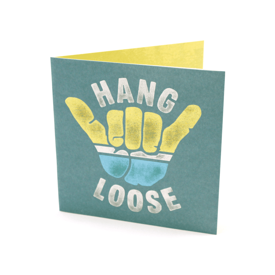 Hang Loose Card HMK0399LIG1517-OS