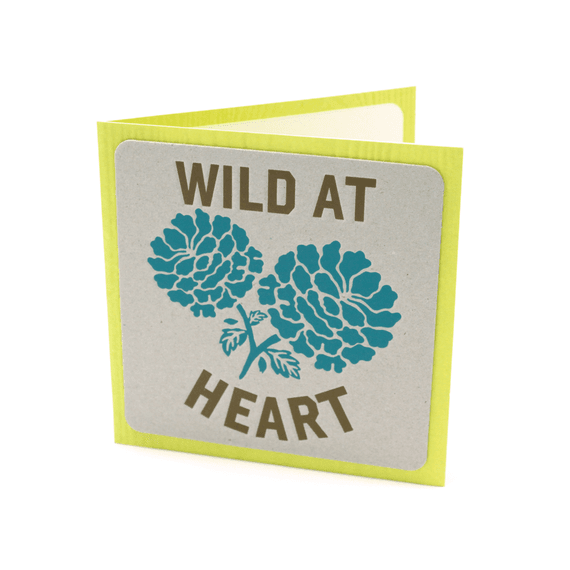 Wild At Heart Card