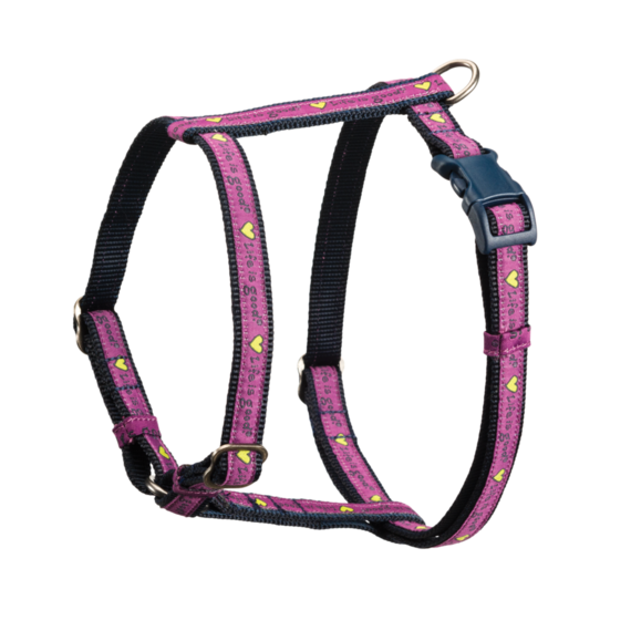 Heart Nylon Dog Harness