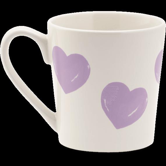 Heart Watercolor Everyday Mug
