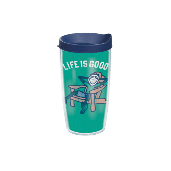 Jake Adirondack Chair Tervis Tumbler with Navy Lid, 16 oz.