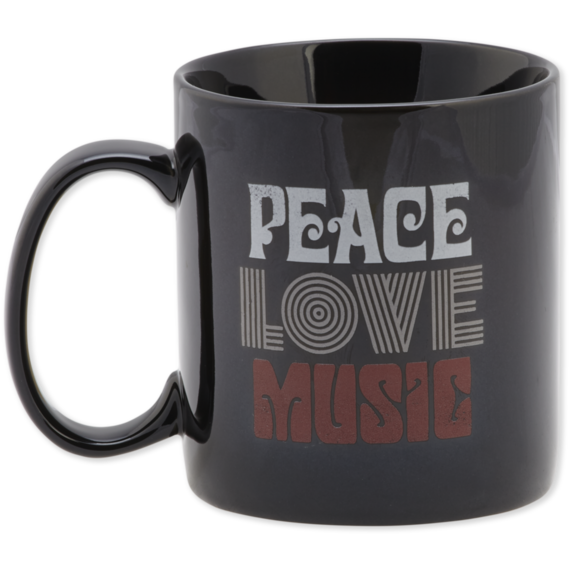 Peace Love Music Jake's Mug
