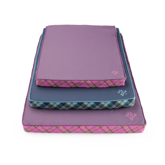 Purple Journey Nester Dog Bed