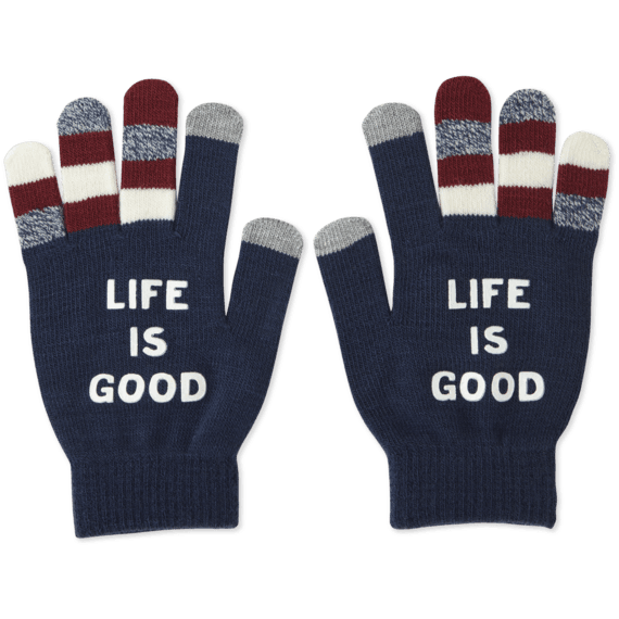 LIG Branded Texting Gloves