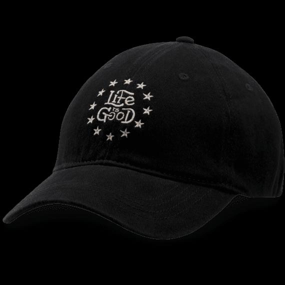 LIG Stars Sueded Stretch Cap