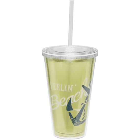 Large Cup & Straw