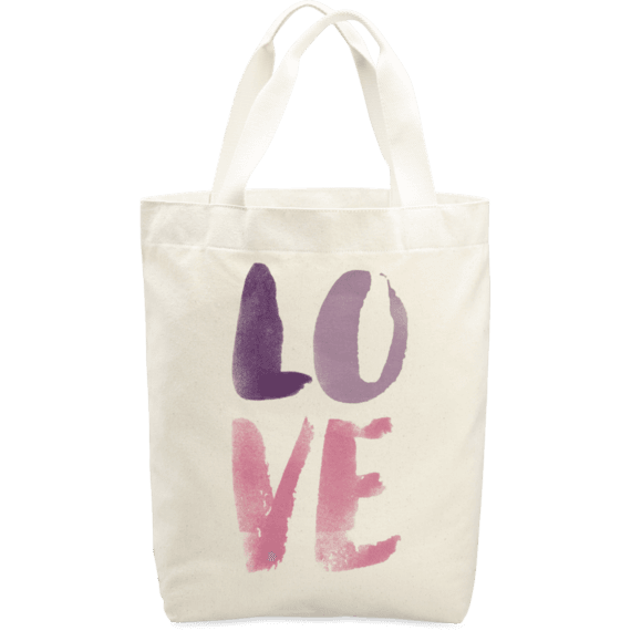 Love Painted Simplicity Tote