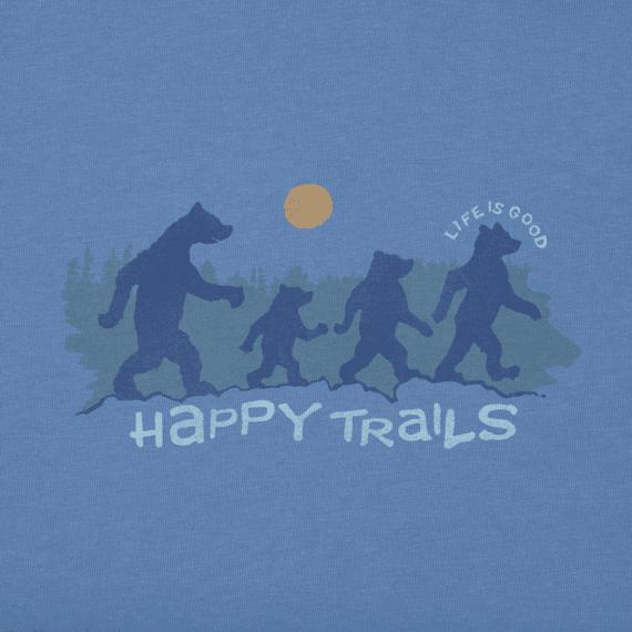 Men's  Happy Trails Bears Crusher Tee