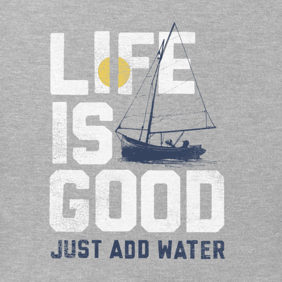 Men's Add Water Boat Crusher Tee
